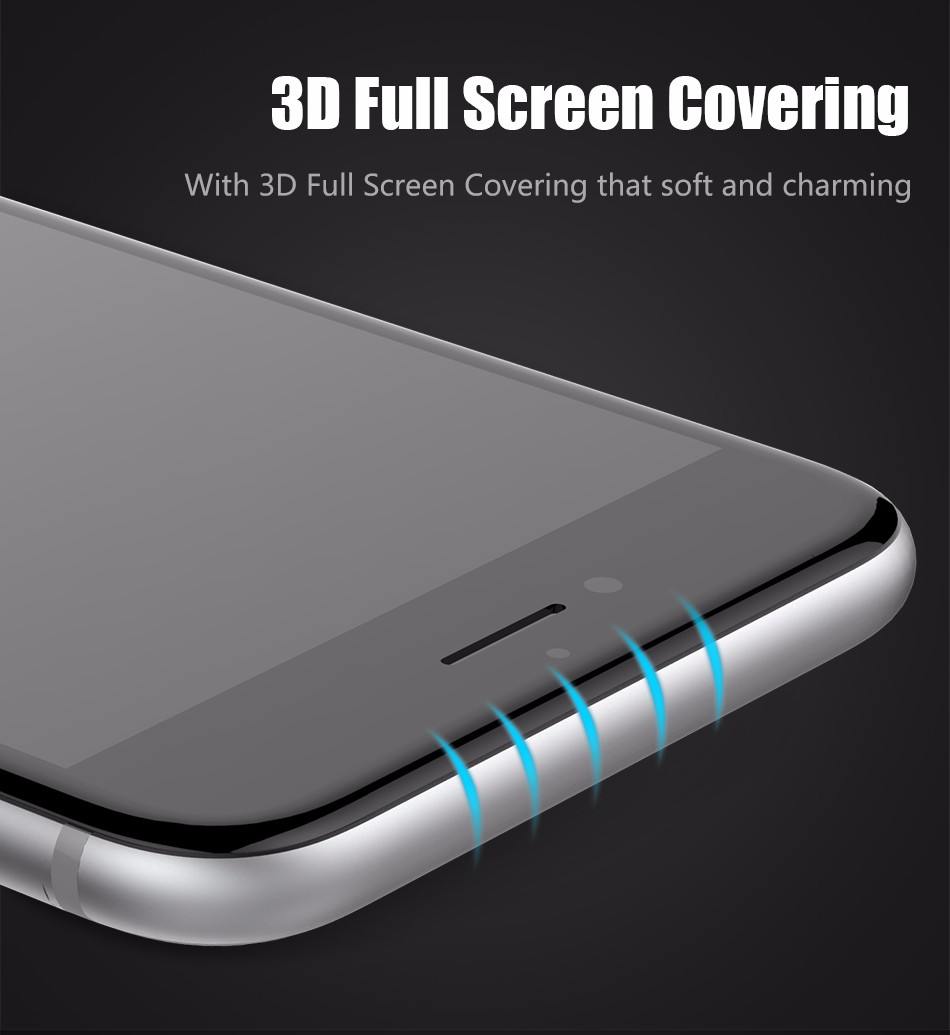 Temper glass screen protector for iphone 6 6s plus (6)
