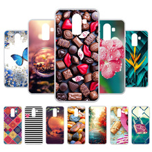 3D DIY Cases For Samsung Galaxy J8 2018 Case Coque J810F/DS J810G/DS Soft Painted Covers Fundas