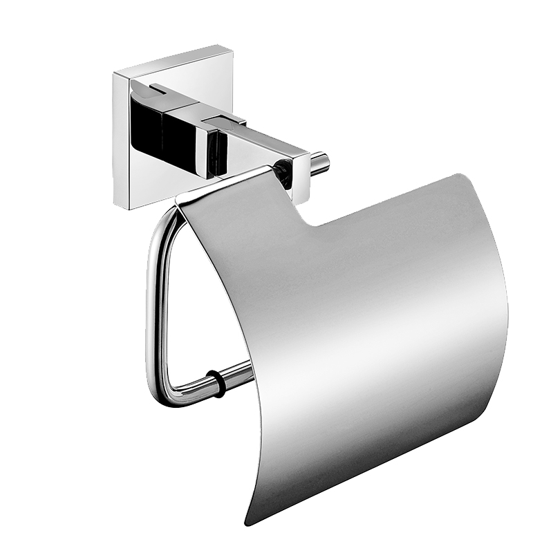 Aothpher Wall Mounted Bathroom Toilet Tissue Paper Roll Holder,White
