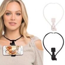 Neck Mount Wearable Smartphone Holder