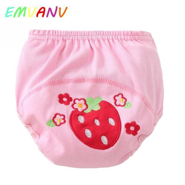 CUTE Children Infant learning crawling Cartoon trousers leaky leak ...
