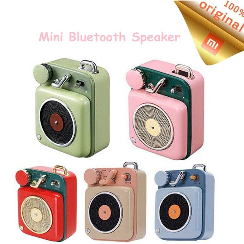 Knap Xiaomi Mijia Cat Koning Atomic Platenspeler B612 Bluetooth Intelligente Audio Mini Draagbare Zink Aluminium Smart Shell Speaker Mw Uitgebreide Selectie;