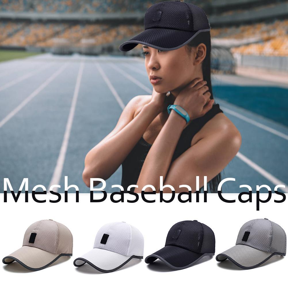 Cap Mesh Hats Baseball-Hat Adjustable Women Sunshade Sun-Protection And Outdoor Causal