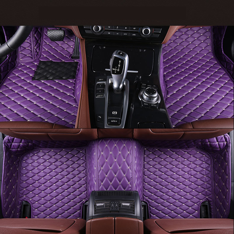Auto Floor Mats For TOYOTA CAMRY 2008.2009.2010.2011 Foot Carpets Car Step Mats High Quality Brand New Embroidery Leather Mats