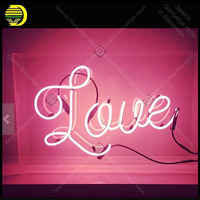 Neon Love Sign in Acrylic for wedding NEON Lamp GLASS Tube Decor BedRoom Handcraft Advertise anuncio luminoso Custom White Board