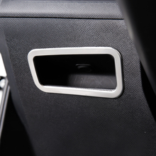 Для peugeot 3008 GT 5008 2nd 2017 2018 LHD Нержавеющаясталь сиденье водителя спереди коробочка для хранения кольцо отделкой вокруг внутреннее оформление
