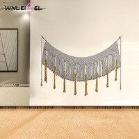 WLG Hanging fabric decorations nordic decoration home handmade innovative wall decor living room decoration