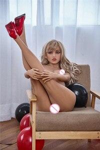 Image 4 - Bambole del sesso 150 centimetri #3 Pieno TPE con Scheletro Adulto Giapponese Bambola di Amore Della Vagina Realistica Figa Realistico Sexy Bambola per Gli Uomini