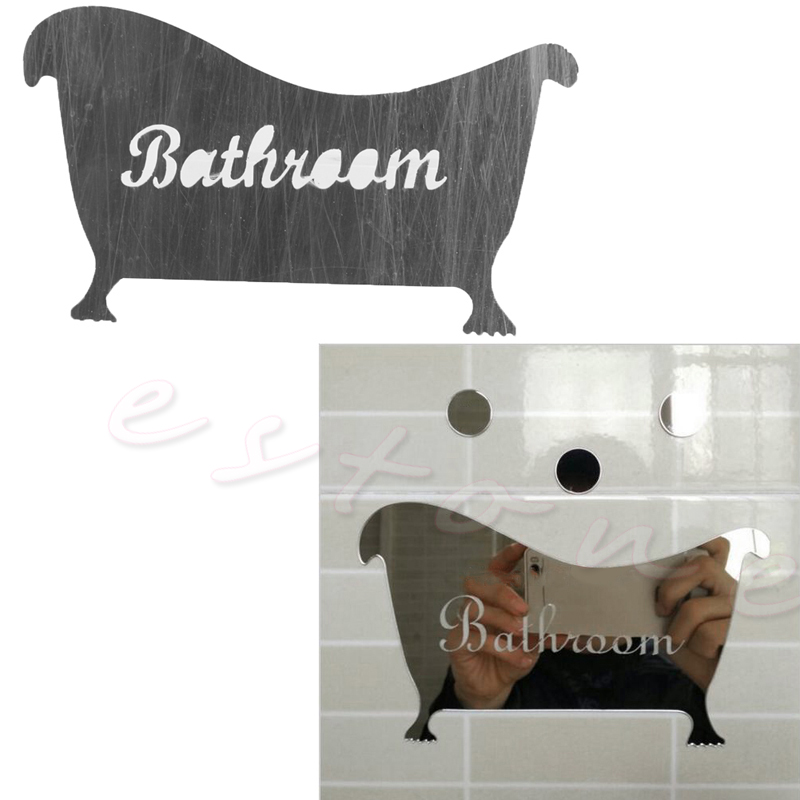 Bathroom Signs Wholesale online buy wholesale bathroom sign acrylic mirror from china