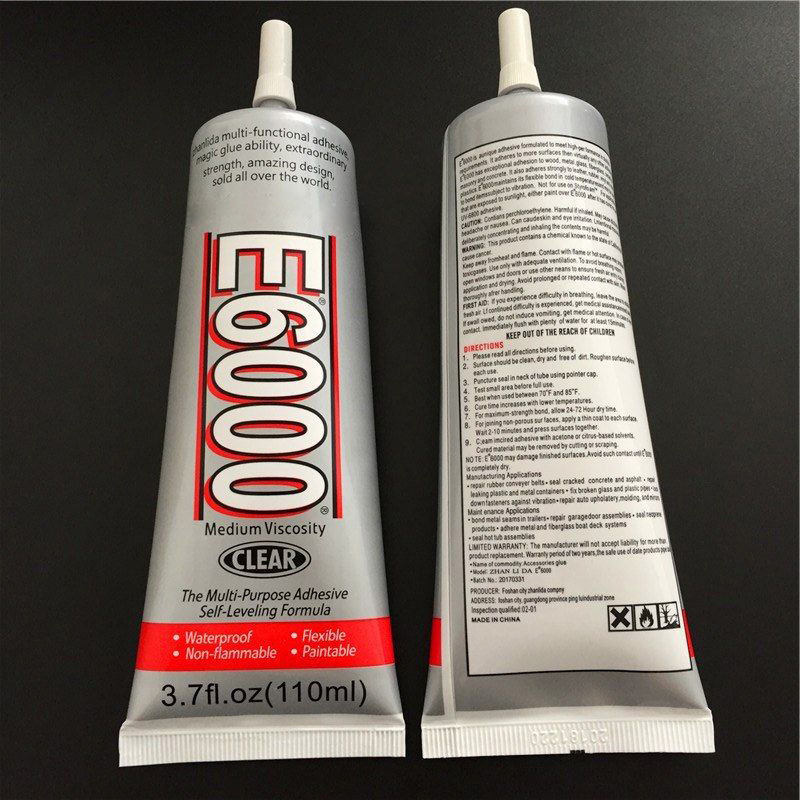 E-6000 DIY Rhinestones Crystals Jewellery Tool Glue Strength Adhesive Liquid Glue 15ML/25ML/50ML/110ML E2S