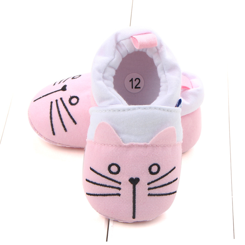 First Walkers Baby Shoes Cotton Anti-slip Booties Baby Girl Boy Shoes Animal Cartoon Newborn Slippers Footwear Booties Kids Gifts (28)