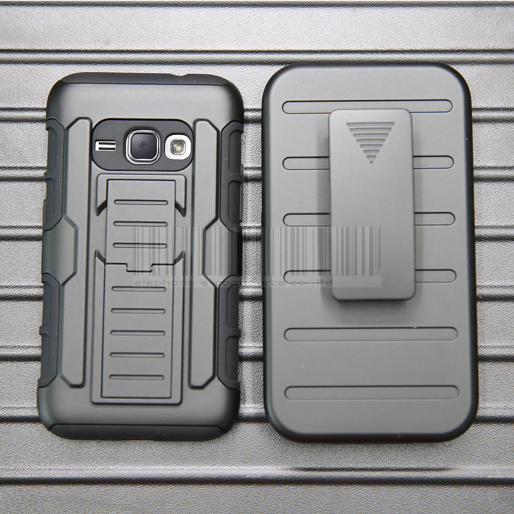 timeless design 1f489 a15cf US $3.99 20% OFF|Rugged Armor Anti shock Hard Protective Case Cover Fundas  For Samsung Galaxy Amp 2 With Holdster+ Belt Clip-in Fitted Cases from ...