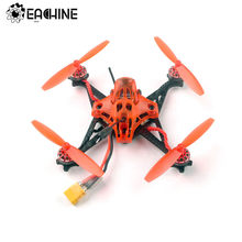 Eachine RedDevil 105mm 2-3S FPV Racing Drone Whoop PNP/BNF Crazybee F4 PRO Caddx EOS2 5,8G 25 ~ 200mW VTX y helicópteros RC.(China)