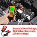 Professtion Car Battery Analyzer Test Tool For 12V Lead Acid Battery With Exact CCA LCD Digital Display Battery Checker AE300