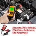 Professtion Ferramenta de Teste Analisador de Bateria de Carro Para 12 V Bateria de Chumbo Ácido Com Exato CCA LCD Display Digital Verificador Da Bateria AE300