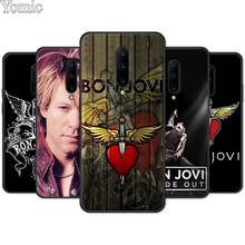 Jon Bon Jovi Rock Soft TPU Cover Shell for Oneplus 7 7 Pro 6 6T 5T Black Case for Oneplus 7 7Pro Silicone Phone Case