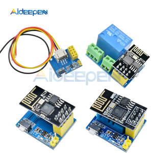 ESP8266 5 V релейный модуль Wi-Fi DS18B20 DHT11 RGB светодиодный Управление Лер вещи умный дом пульт дистанционного управления телефон приложение ESP-01 ESP-01S