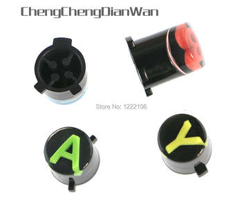 ChengChengDianWan For XBOX ONE Wireless Controller button ABXY LOGO Repair Parts Controller Parts 50sets/lot