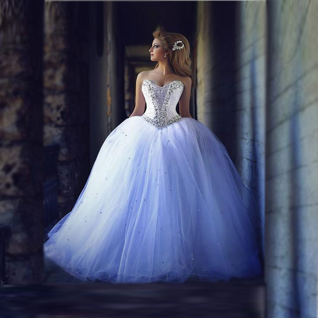 big tulle wedding dresses