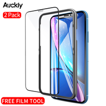 Auckly 2PCS/LOT Protective Tempered Glass Film HD Thin Full Coverage Surface Screen