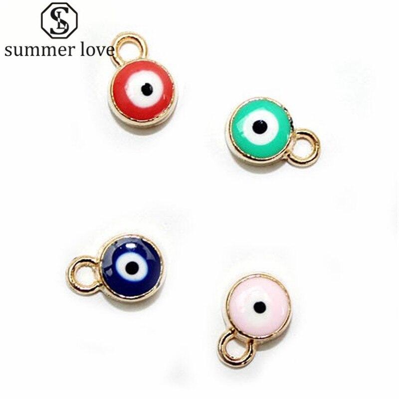 ヾ(^▽^)ノAl por mayor lateral doble turco mal Ojos Amuletos para ...