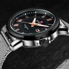 NAVIFORCE Men Watch Luxury Brand Quartz Watch 2016 Fashion Sport Watches For Men Clock Relogio Masculino Steel Male Wristwatches