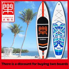 Inflatable Stand Up Paddle Board Sup-Board Surfboard Kayak Surf paddle with Backpack,leash,pump,waterproof bag,fin