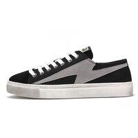 혼합 된 색상 레트로 남자 스케이트 보드 신발 가벼운 무게 원인 스 니 커 즈 남자 스포츠 신발 보드 여행 워킹 신발