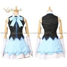 Kisstyle moda más allá del límite mitsuki nase sexta party dress dage uniforme ropa cosplay, modificado para requisitos particulares aceptado