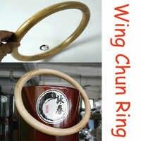 Kung Fu Ring für Hand Handgelenk Stärke Ausbildung Traditionellen Kampfkunst Holzpuppe Wing Chun Rattan Ring