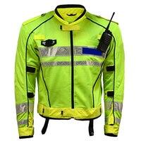 MOTRAVEL Super Breathable Professional Motorcycle Jacket Reflective Riding Mesh Summer Suit Iron Rider Police Uniform Coats