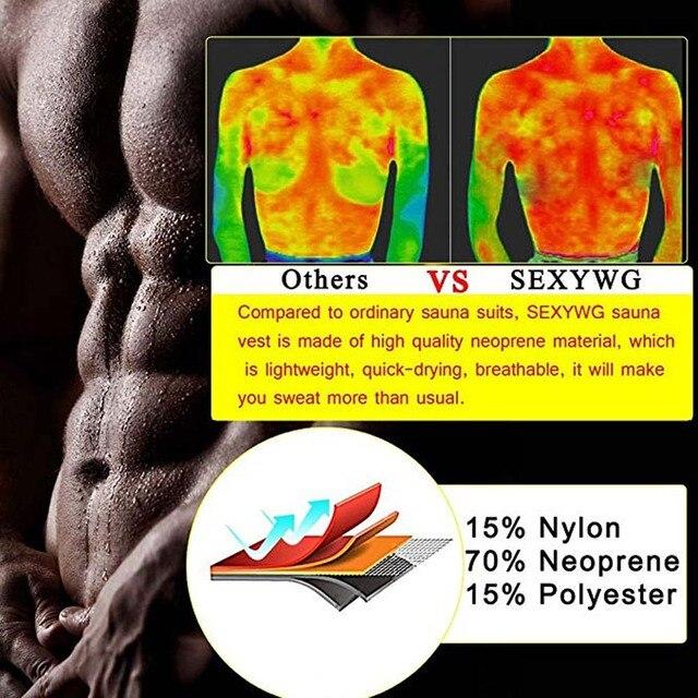 HEYME Men Sweat Neoprene Body Shaper Slimming Waist Trainer Cincher Slimming Wraps Fat Burning Weight Loss Slimming Belt 1