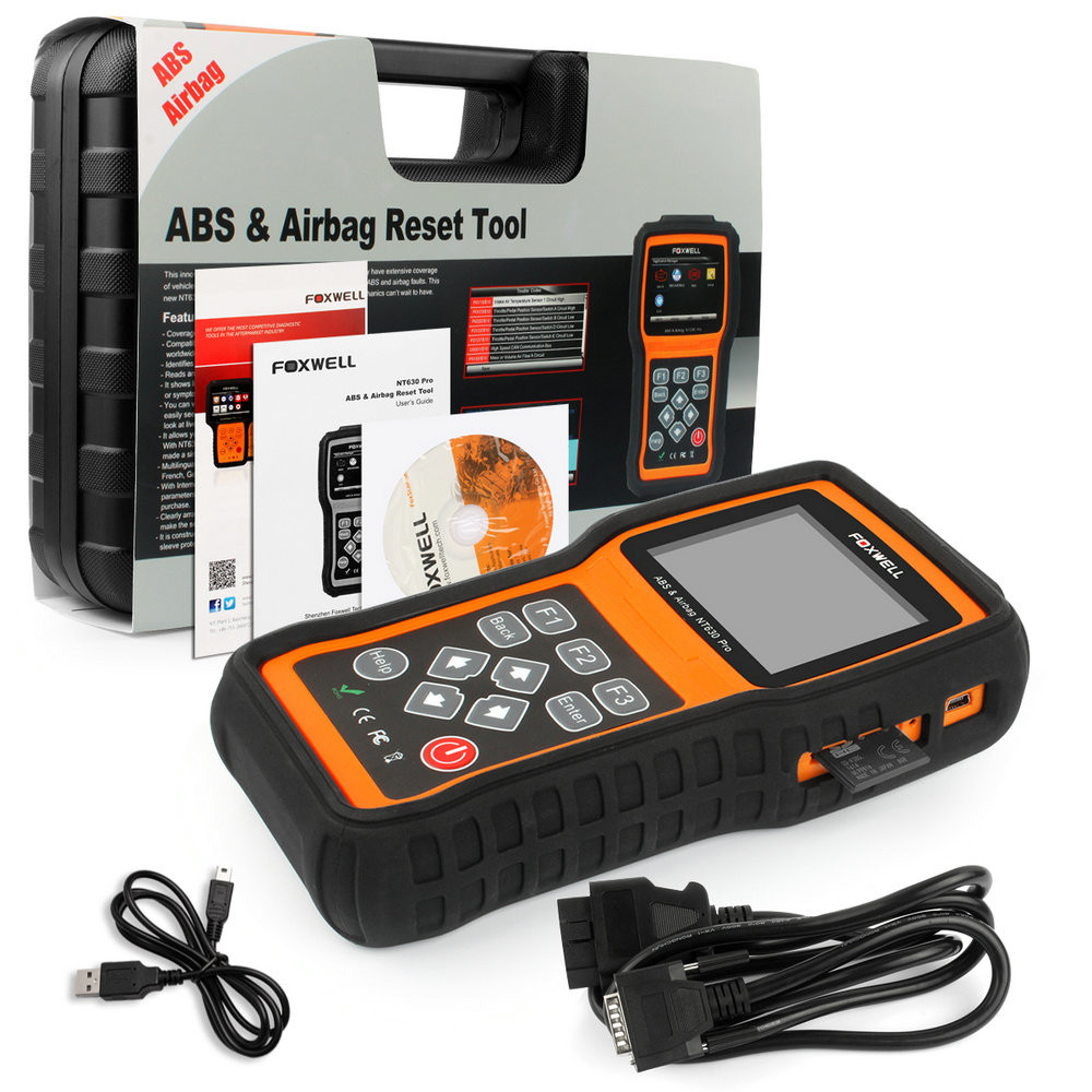 ABS Airbag Air bag SAS Reset Tool Foxwell NT630-04