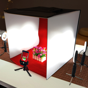 Image 5 - Travor K60II LED Foldable Photo Studio Light Box  Foldable Table Top Photography Shooting Tent CRI 95 3200K 5500K 9000K lightbox