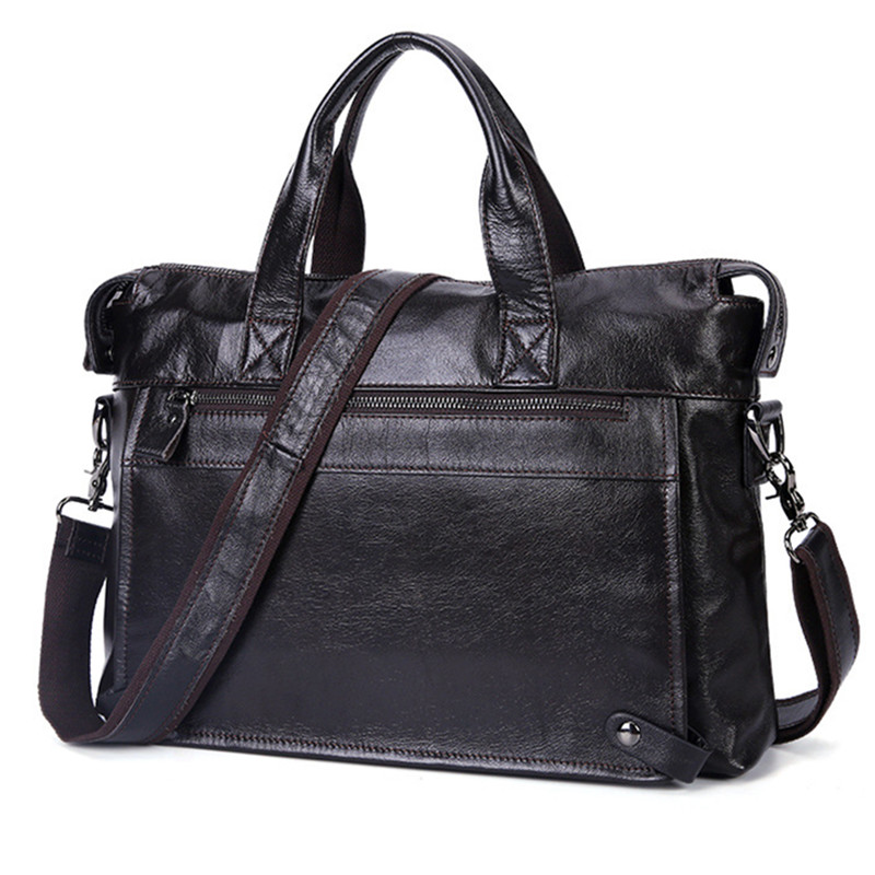 Vintage 100% en cuir véritable hommes mallette d'affaires russe de mode Style hommes en cuir sacs à main 14