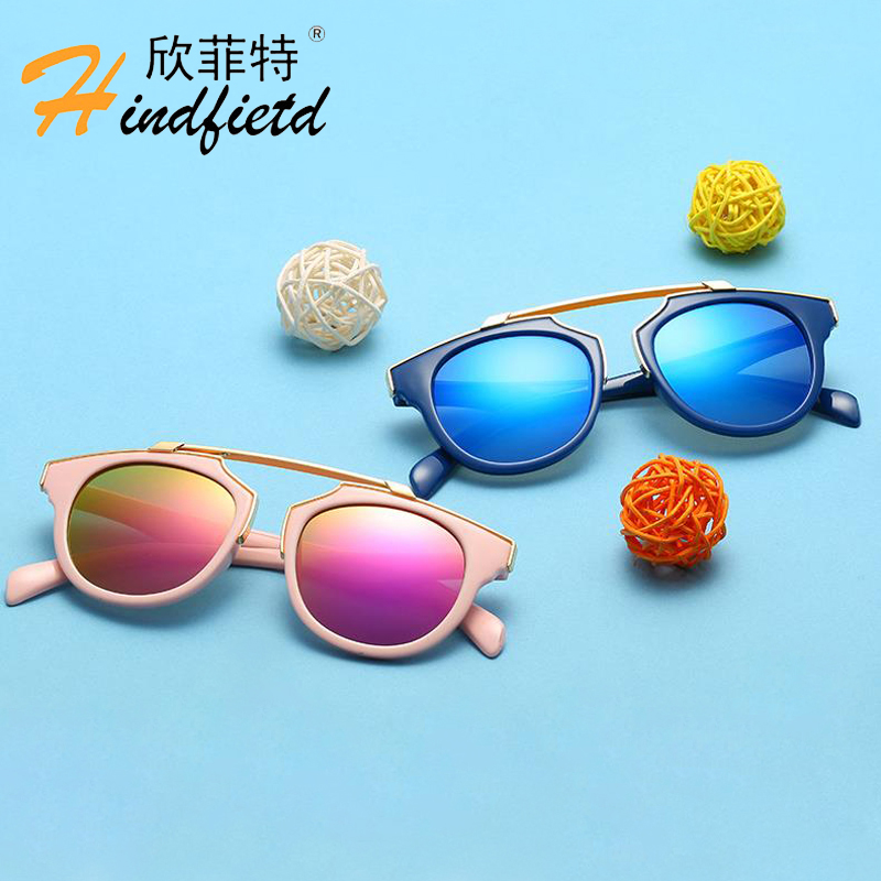 HINDFIELD 2018 Fashion Children Sunglasses Kids Glasses Baby Sun Glasses For Children Girls Boys Child Eyewear Oculos Lunette fashion sunglasses women diamond luxury brand design sun glasses female mirrored lens oculos de sol feminino