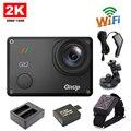 Frete grátis!! GitUp Git2 WiFi 2 K Sports Action Camera + Controle Remoto + Extra 1 pcs Bateria + Carregador de Bateria + Carregador de carro + Suporte para Carro