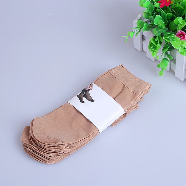 1 Pair Women Summer Socks Women Woman Female Elastic Nylon Spandex Socks Casual Standard Women socks Dropshipping