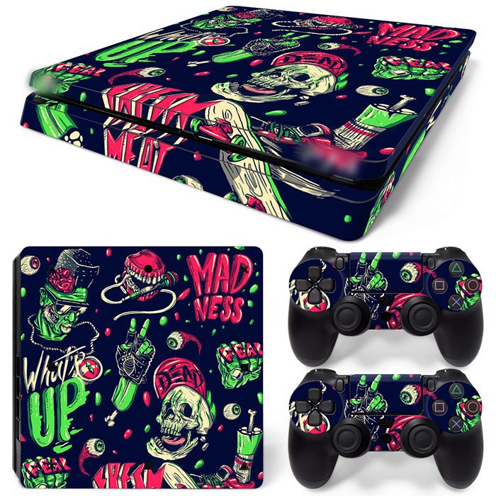 Free Drop Shipping NOISE- Decals for Playstation 4 Games - Stickers Cover for PS4 Slim-TN-P4Slim-1534