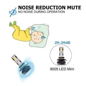 Image 5 - Kit de lampes anti brouillard H7 LED Ultra Mini ampoules de voitures, H8 H9 H11 Led H7 H1, 9005 HB3 9006 HB4, Auto 12V led, le plus récent