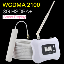 HSDPA+ 3G WCDMA 2100mhz Cell Phone Signal Amplifier UMTS 2100 Mobile Phone Repeater Booster Repetidor Sinal Celular 3G Ineternet