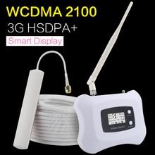 HSDPA + 3G WCDMA 2100mhz هاتف محمول مكبر صوت أحادي UMTS 2100 الهاتف المحمول مكرر الداعم تكرار Sinal celole 3G Ineternet