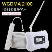 HSDPA + 3G WCDMA 2100mhz wzmacniacz sygnału telefonii komórkowej UMTS 2100 wzmacniacz telefonu komórkowego Repeater Repetidor Sinal Celular 3G Ineternet