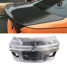 F10 высокое качество карбоновое волокно задний багажник капот автомобиля Стайлинг для BMW 5 серии F10 520i 525i 530i 535i автомобильный обвес 2011