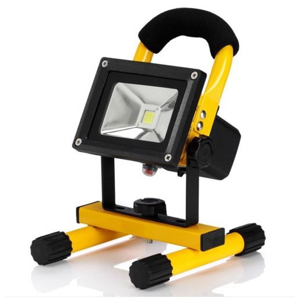 Outdoor Flood Light Portable: Flood Lights Rechargeable 10W Led Floodlight USB 5V