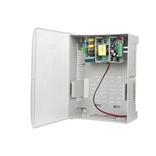12V 3A Access Control Switching Power Supply with UPS Battery Backup (17AH) power supply relay panel with backup battery interface low voltage protection for door access control