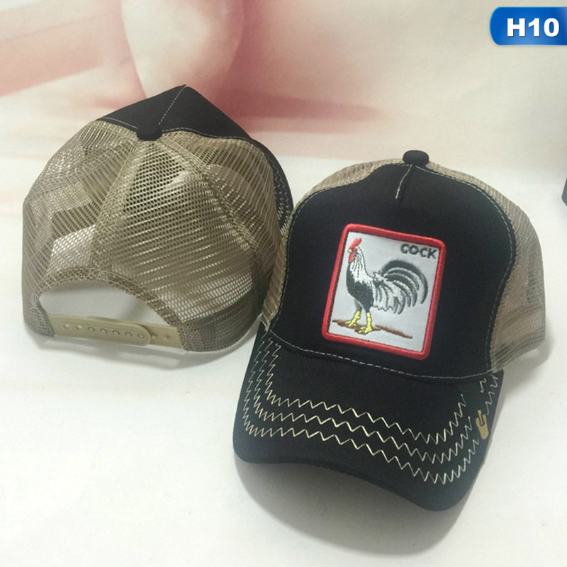 03be9ce9dde9d Detail Feedback Questions about Cock Animal Embroidery Baseball Cap ...
