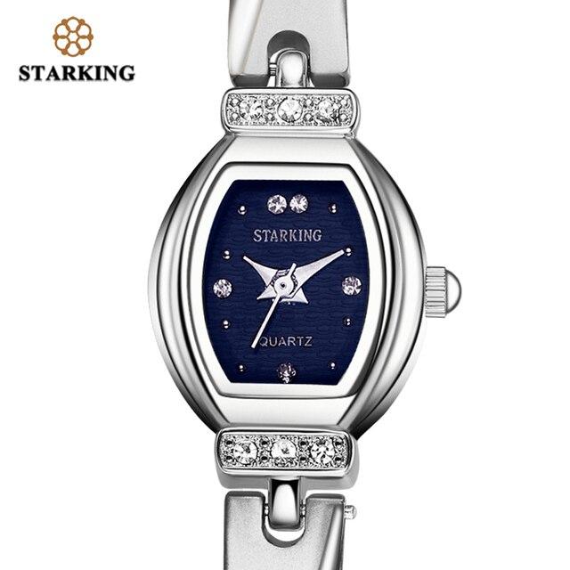 STARKING العلامة التجارية الجديدة الفاخرة النساء ساعة العلامة التجارية الشهيرة الذهب موضة تصميم سوار ساعة السيدات النساء ساعات المعصم Damske Hodinky
