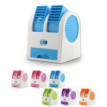 Mini Fan Cooling Portable Desktop USB Mini Air Conditioner Cooling small Desk Fan high quality cooler summer for gift
