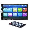 Автомобиль MP5 Игрок 7 ''HD Сенсорный Экран Bluetooth Телефон Стерео Радио FM/1080 P/MP4/MP3/аудио/Видео USB Электроника Авто В Тире 2 Din